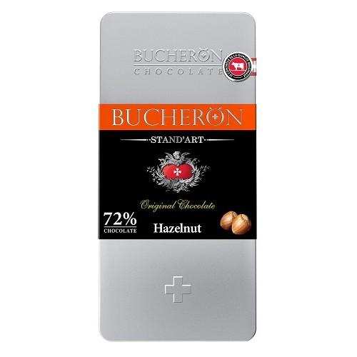 Bucheron шоколад горький c фундуком, 100 гр