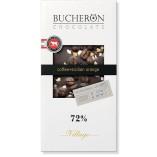 Bucheron шоколад горький с зернами кофе и апельсином, 100 гр