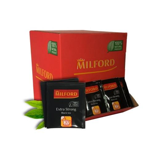 Milford черный чай особо крепкий, 200 пакетиков