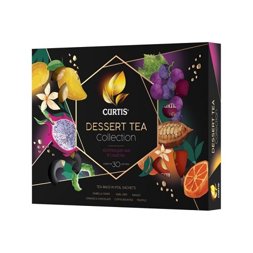 Curtis набор ассорти Dessert Tea Collection, 30 пакетиков