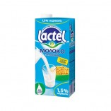 Lactel молоко с витамином D 1,5%, 1л