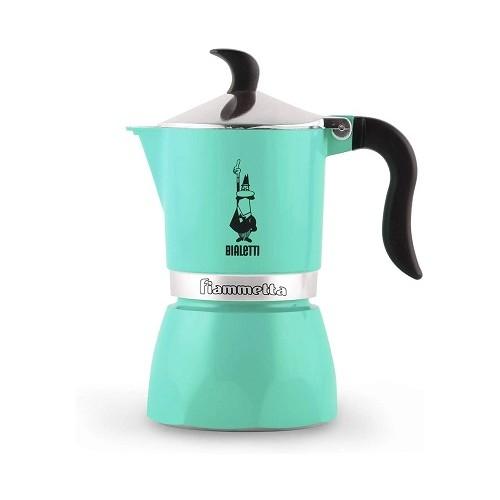 Bialetti Fiammetta Green гейзерная кофеварка на 3 порции