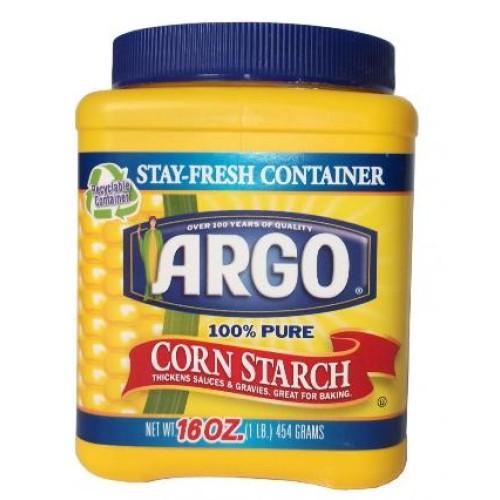 Argo кукурузный крахмал, 454 гр