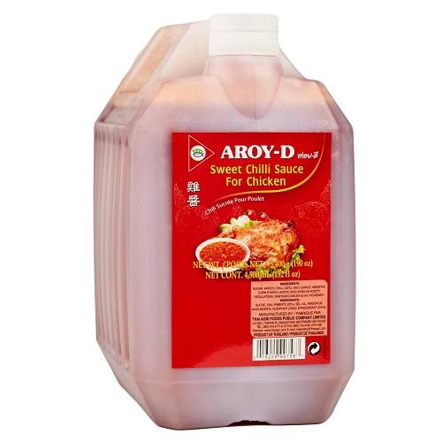 Aroy-D соус сладкий чили для курицы, 5,4 кг