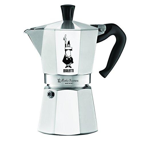 Bialetti Moka Express гейзерная кофеварка на 3 порции