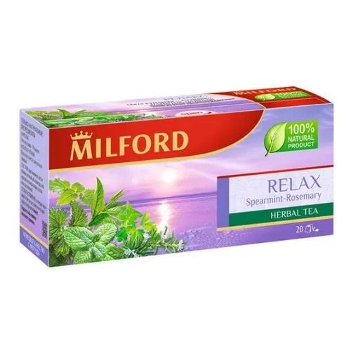 Milford Relax Мята - Розмарин, 20 пакетиков