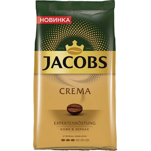 Jacobs Monarch Crema, зерно, 1000 гр.