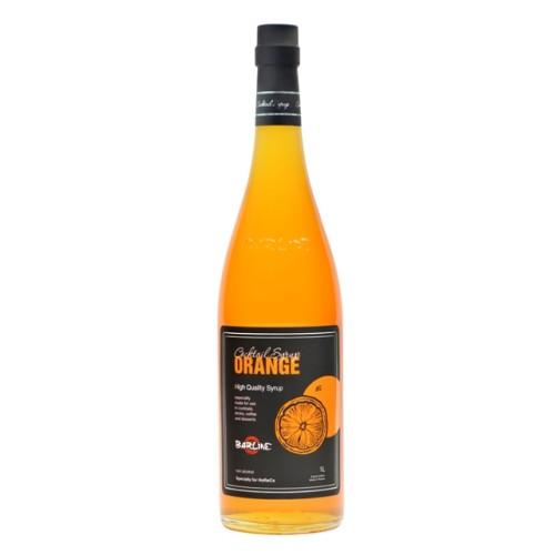 Barline сироп Апельсин, стекло, с дозатором, 1л