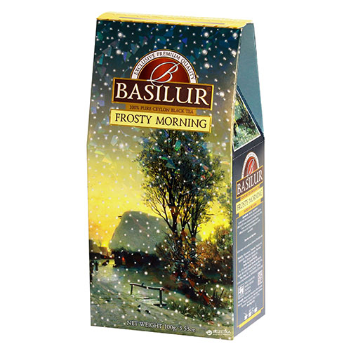 Basilur черный чай Frosty Morning, 100 гр