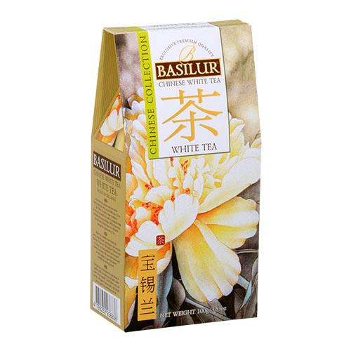 Basilur зеленый чай Китайская коллекция: White Tea, 100 гр