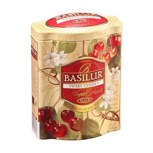 Basilur черный чай Вишня и Черешня, жесть, 100 гр