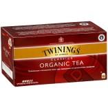 Twinings чай черный Organic, 25 пакетиков