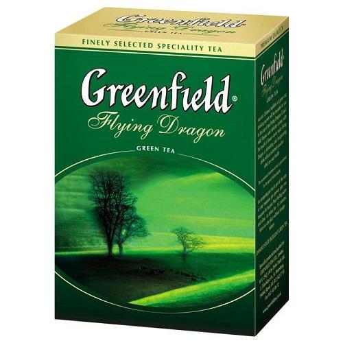 Greenfield чай зеленый Flying Dragon, 100 гр