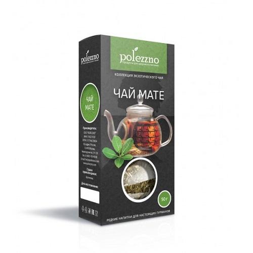 Polezzno чай Мате, 50 гр