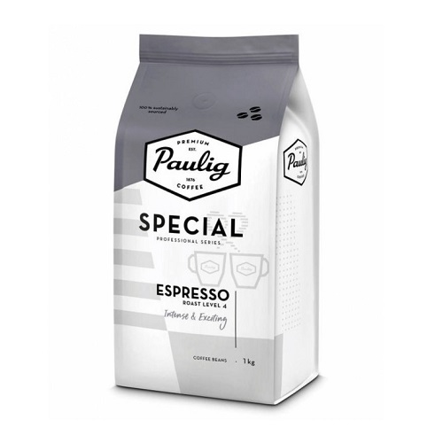Paulig Espresso Special, зерно, 1000 гр.