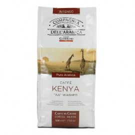 "Compagnia Dell'Arabica Kenya ""AA"" Washed, зерно, 500 гр"