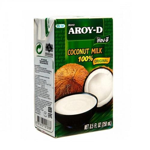 Aroy-D кокосовое молоко, 250 мл