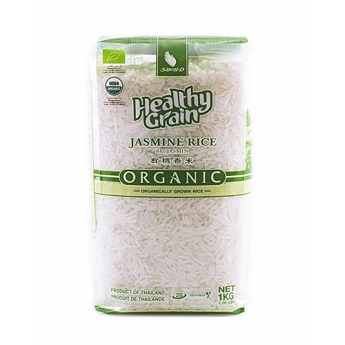 Sawat-D органический тайский рис, жасмин, белый, 1 кг