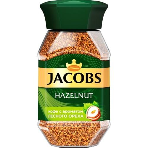 Jacobs Monarch Лесной орех, растворимый, стекло, 95 гр