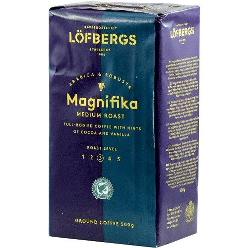 Lofbergs Magnifica, молотый, 500 гр