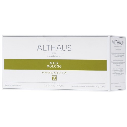 Althaus чай Milk Oolong, 20 пакетиков для чайника