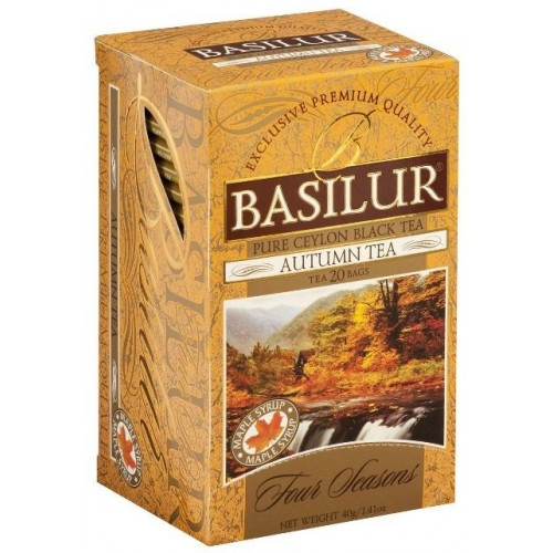 Basilur черный чай Autumn Tea, 20 пакетиков