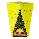 Basilur черный чай Christmas Tree Yellow, 85 гр