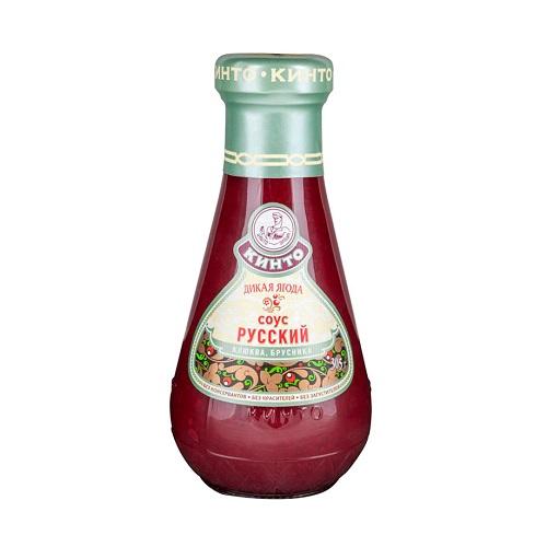 Кинто соус фруктовый Дикая ягода, 305 гр