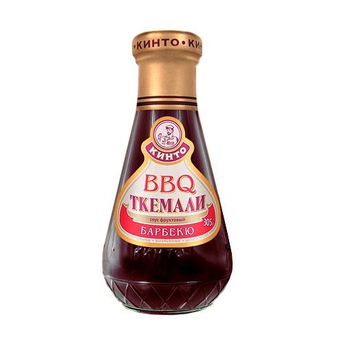 Кинто соус фруктовый Ткемали барбекю, 305 гр