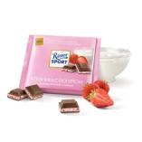 Ritter Sport шоколад молочный Клубника с йогуртом, 100 гр