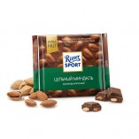 Ritter Sport шоколад молочный Цельный миндаль, 100 гр