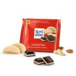 Ritter Sport шоколад темный Марципан, 100 гр
