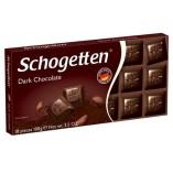 Schogetten шоколад темный, 100 гр, уценка