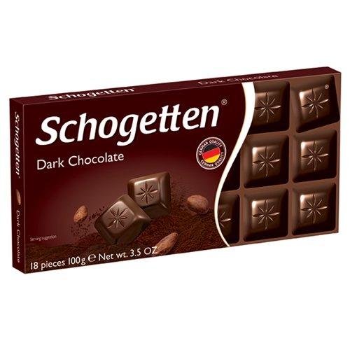 Schogetten шоколад темный, 100 гр