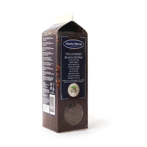 Santa Maria Перец черный Теличерри, целый, 450 гр