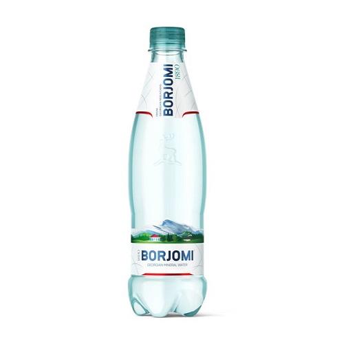 Боржоми, минеральная вода, пластик, 500 мл, 12 шт