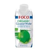 Foco кокосовая вода, органик, 330 мл